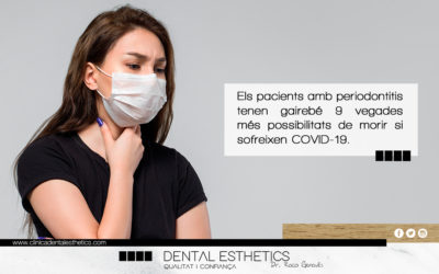 La periodontitis multiplica per 9 la mortalitat per COVID-19